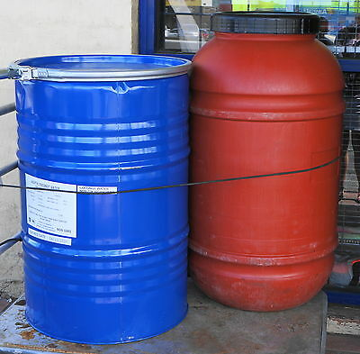 44 Gallon Drum Metal  Aprox 200L Had Food in it not Chemicals