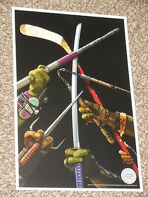TMNT Out of the Shadows Limited Movie Poster 2016 Teenage Mutant Ninja Turtles
