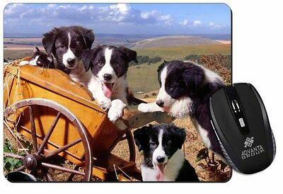 Border Collie Computer Mouse Mat Christmas Gift Idea, AD-BC19M