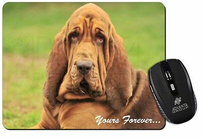 """Blood Hound Dog """"Yours Forever..."""" Computer Mouse Mat Christmas Gift I, AD-BH7yM"""