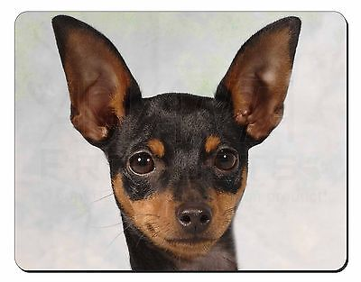 English Toy Terrier Dog Computer Mouse Mat Christmas Gift Idea, AD-ET1M