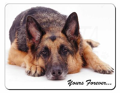 German Shepherd Dog 'Yours Forever' Computer Mouse Mat Christmas Gift I, AD-GS6M