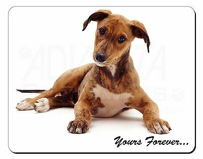 Lurcher Dog 'Yours Forever'  Computer Mouse Mat Christmas Gift Idea, AD-LU4M