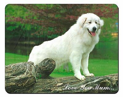 Pyrenean Mountain Dog 'Love You Mum' Computer Mouse Mat Christmas Gi, AD-PM1lymM