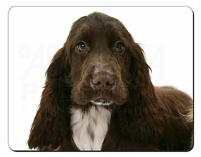 Chocolate Cocker Spaniel Dog Computer Mouse Mat Christmas Gift Idea, AD-SC3M