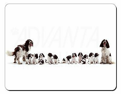 Springer Spaniel Dogs Computer Mouse Mat Christmas Gift Idea, AD-SS12M