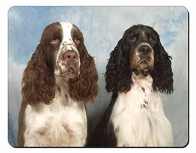 Springer Spaniel Dogs Computer Mouse Mat Christmas Gift Idea, AD-SS2M