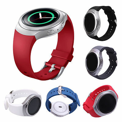 Samsung Gear S2 SM-R720 Version, 5 PCS Silicone Wrist Smart Watch Band Strap