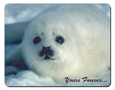 Snow Seal 'Yours Forever' Computer Mouse Mat Christmas Gift Idea, AF-S14M