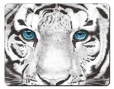 Siberian White Tiger Computer Mouse Mat Christmas Gift Idea, AT-11M