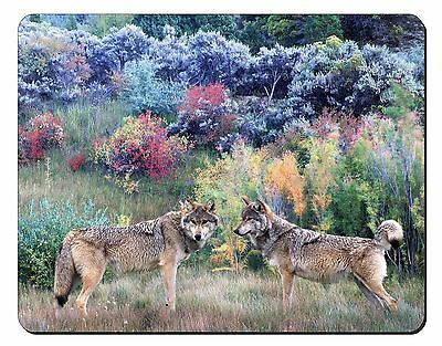 Wolves Print Computer Mouse Mat Christmas Gift Idea, AW-45M