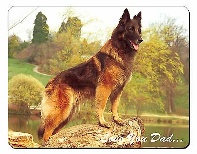 Belgian Shepherd 'Love You Dad' Computer Mouse Mat Christmas Gift Idea, DAD-11M
