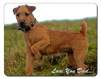Lakeland Terrier 'Love You Dad' Computer Mouse Mat Christmas Gift Idea, DAD-73M