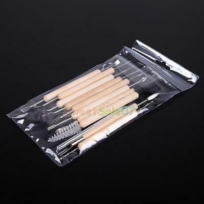 11 X Clay Sculpting Set Wax Carving Pottery Modeling Chisel Shaper Polymer Tools