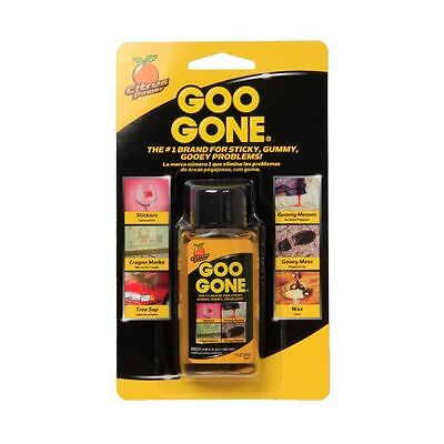 Goo Gone Mini Bottle Sticky Gummy Sap Crayon Wax Tar Gum Remover
