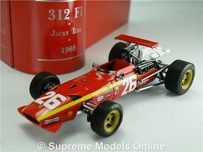 Ferrari 312 Car Model Jacky Ickx 1:43 Formula One 1968 Gp Winner Ixo Sf13/68 T4Z
