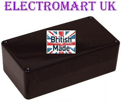 Abs Black Plastic Electronics Project Box Enclosure 150 X 80 X 50Mm