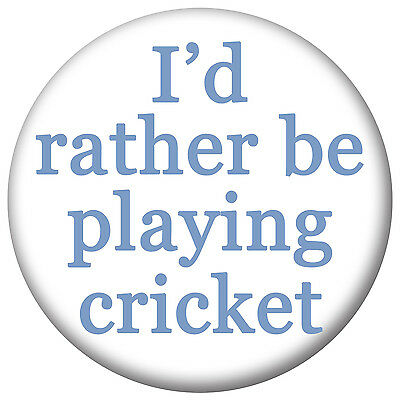Mirror Bottle Opener Magnet I/'d rather be playing football Sports Badges