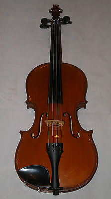 Antique French Violin By Ignace Mauretti, Circa 1910. Professionally Serviced.