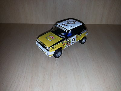 Scalextric Renault 5  Copa Planeta coches miticos cars collection