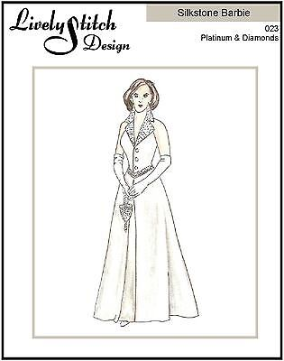 Platinum & Diamonds / sewing pattern for the Silkstone Barbie doll