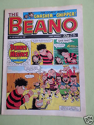 The Beano  - Uk Comic - 18 Mar 1989  - #2435