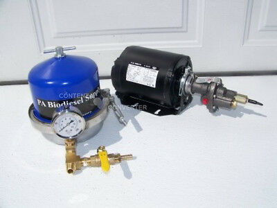 150 GPH OIL CENTRIFUGE / MOTOR PACKAGE for WVO / OIL and BIODIESEL