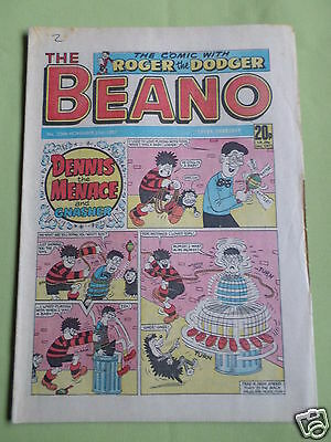 The Beano  - Uk Comic - 21 Nov 1987  - #2366