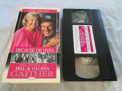 Gaither Gospel Series - Because He Lives - (Vhs, 2000)