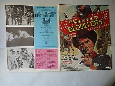 JACK PALANCE/WELCOME TO BLOOD CITY/british pressbook