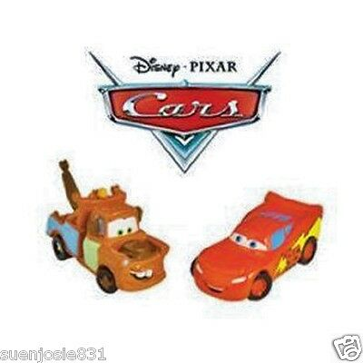 Disney Cars Party Toppers 6pcs Cake Cupcake Decorations Wilton
