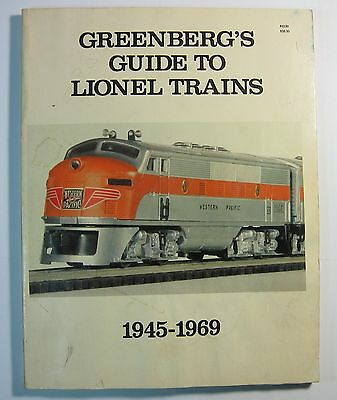 1984 Greenberg's Guide To Lionel Trains 1945-1969