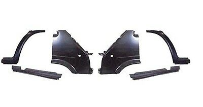 Ford Transit Mk5 1995 - 2000 Front Wing/front Arch & Door Sill Set L/h & R/h