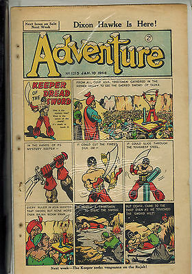 ADVENTURE COMIC 37 issues from 1948  D. C. Thomson