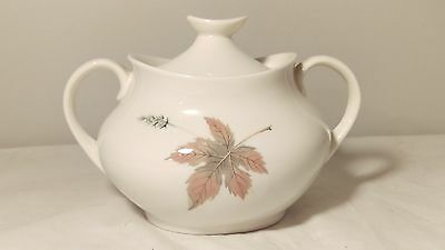 Royal Doulton Tumbling Leaves TC1004 Sugar Bowl With Lid in EXCELLENT Condition