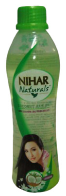 Marico NIHAR Naturals 100ml Coconut Hair Oil w/ Jasmine & Methi Extracts US-SHIP