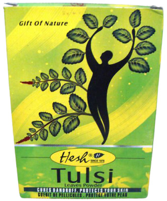 Hesh Tulsi Leaves Powder 100g CURES DANDRUFF PROTECTS SKIN USA SELLER-FAST SHIP
