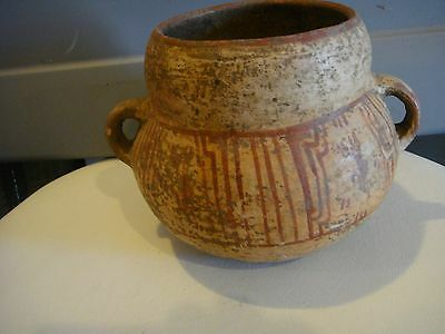 Authentic Pre Columbian Painted Bowl Intact Mayan Classic Period 1000+ Years Old