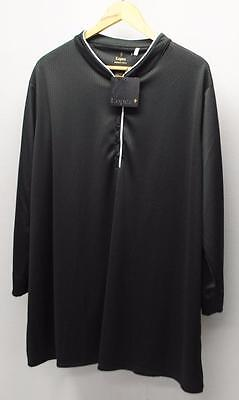New Ladies Lopez Desert Dry 3X Dream Plus 3/4 sleeve polyester golf polo Black
