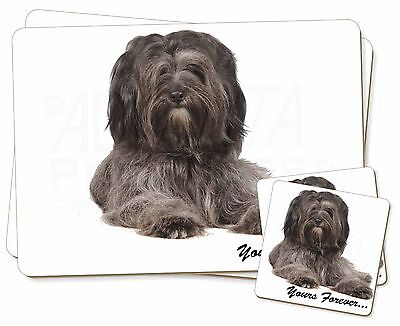 Tibetan Terrier 'Yours Forever'  Twin 2x Placemats+2x Coasters Set in, AD-TT2YPC