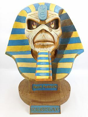 """Iron Maiden - Limited Edition Powerslave Eddie Bust - LARGE 20"""" Tall - 750 Made"""