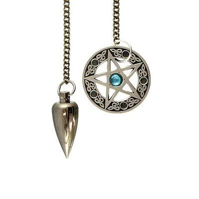 Celtic Pentagram Pendulum   Includes Protective Pouch!!  ~Divination