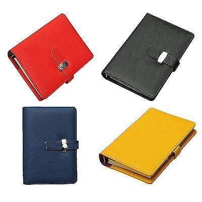 Pocket Organiser Planner Leather Filofax Diary Notebook HY