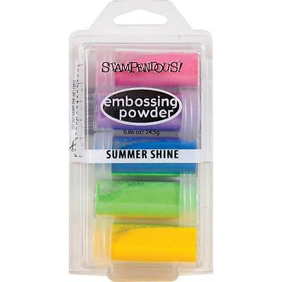 Summer Shine EMBOSSING Kit Collection Embossing Powders Stampendous EK21 NEW
