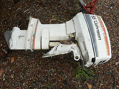 Johnson  Outboard 55Hp  Wrecking ,all Parts Available ,long Shaft1979