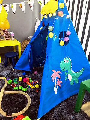 Indina Cotton Canvas Teepee Kids Play Tent Outdoor Marquees