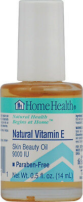 Natural Vitamin E, Home Health, 0.5 oz