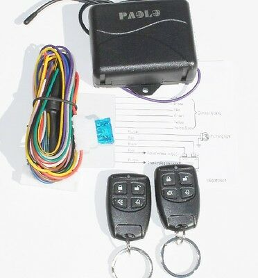 Car Remote Control Central Lock Locking Kit Keyless Entry System UNIVER New 2270