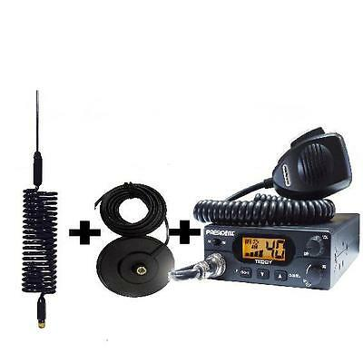 President Teddy CB Radio Mag mount and Mini Stinger Aerial Starter kit