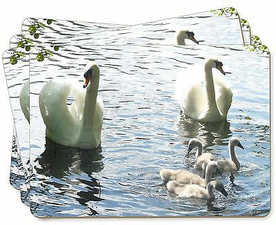 Swans and Ducks Picture Placemats in Gift Box, AB-S10P